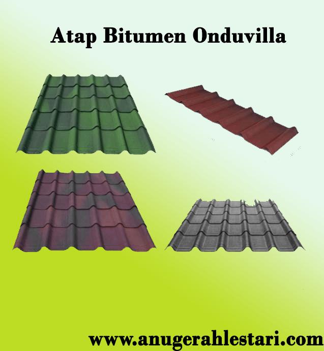 Jual Atap Bitumen Onduvilla Terbaru Termurah 2019