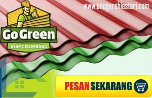 JUAL ATAP UPVC GO GREEN TERMURAH TERBARU 2021