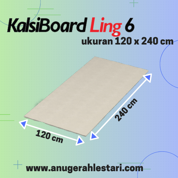 kalsiboard ling 6mm
