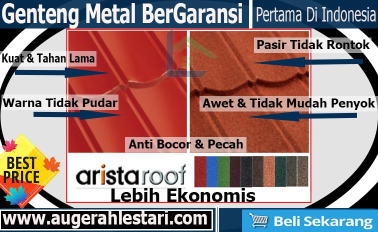 jual genteng metal murah