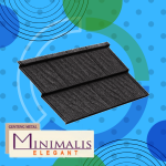 Genteng Metal Minimalis Elegant Ebony Black Tebal 0,45 mm